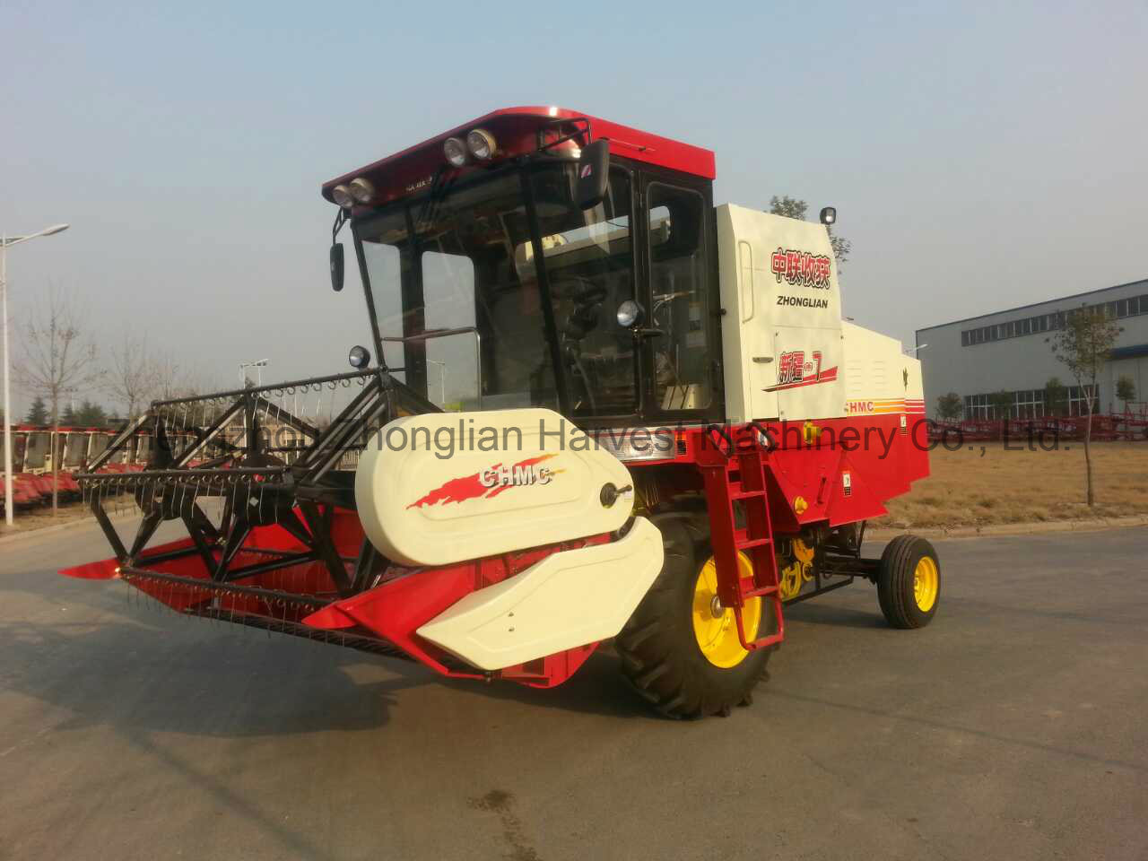 Good Supplier for Wheat and Rice Combine Harvester