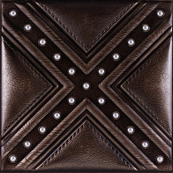 3D Leather Carving Wall Panel for Interior Decoration
