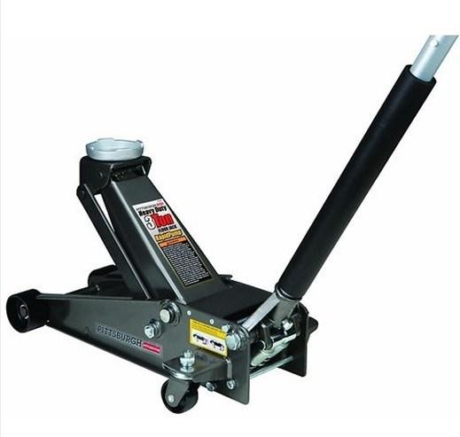 Floor Jack, 3 Ton Heavy Duty. Floor Jack Lifts up to 6, 000 Lbs