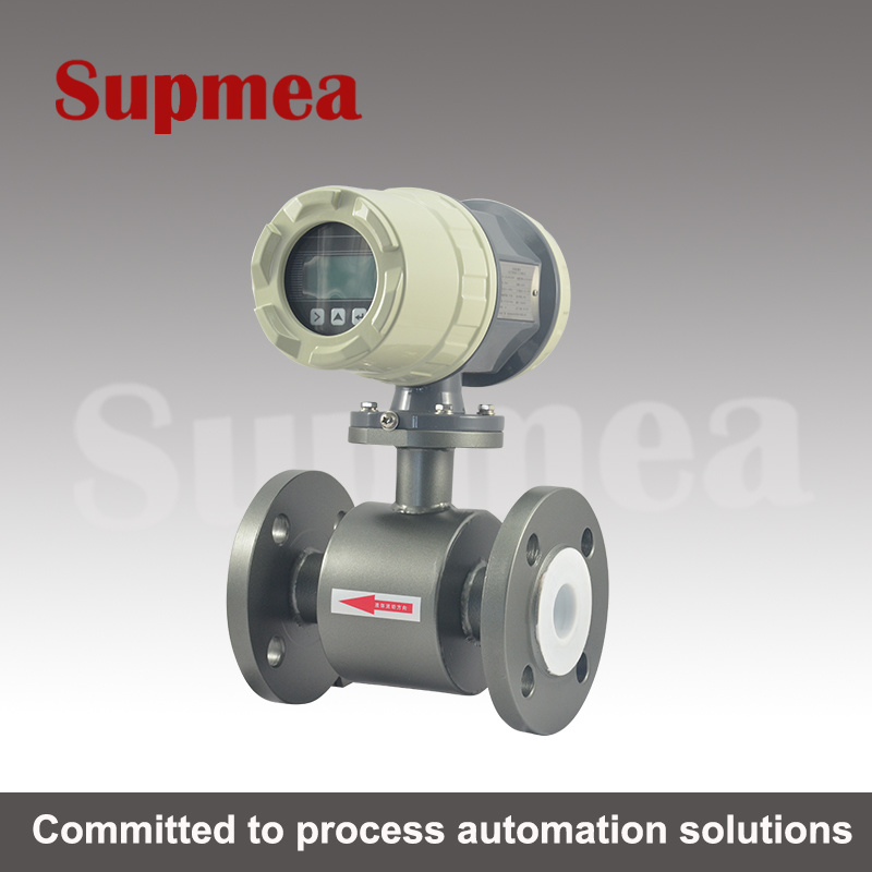 Supmea 316ss Stainless Steel Thread Connection Electromagnetic Flow Sensor
