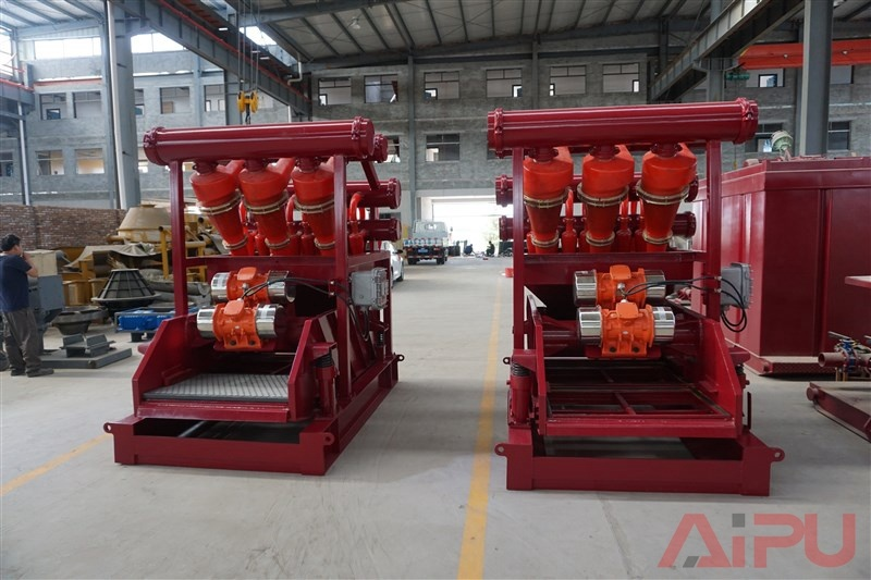 Well Drilling Solids Control Mud Cleaner Supplier