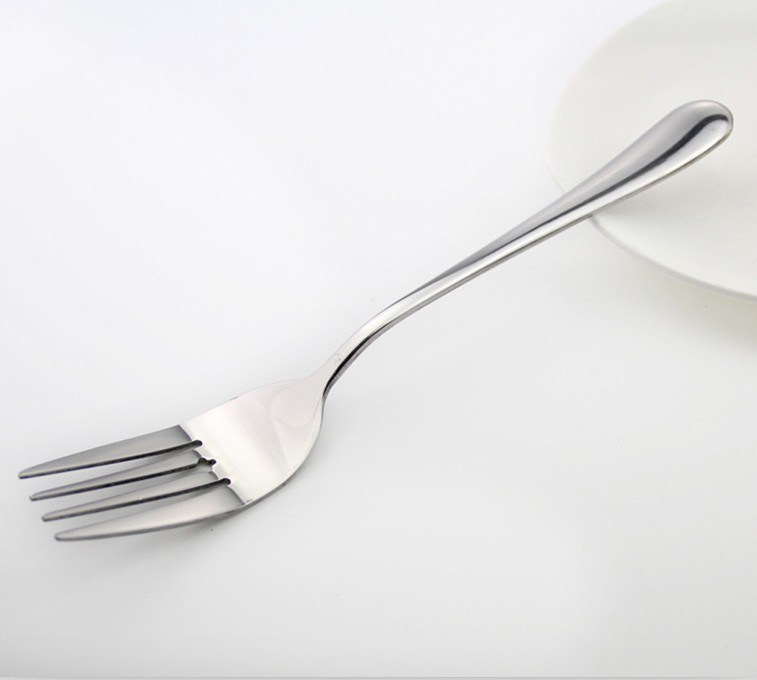 Cheap Price 410 Mirror Polished Stainless Steel Service Fork