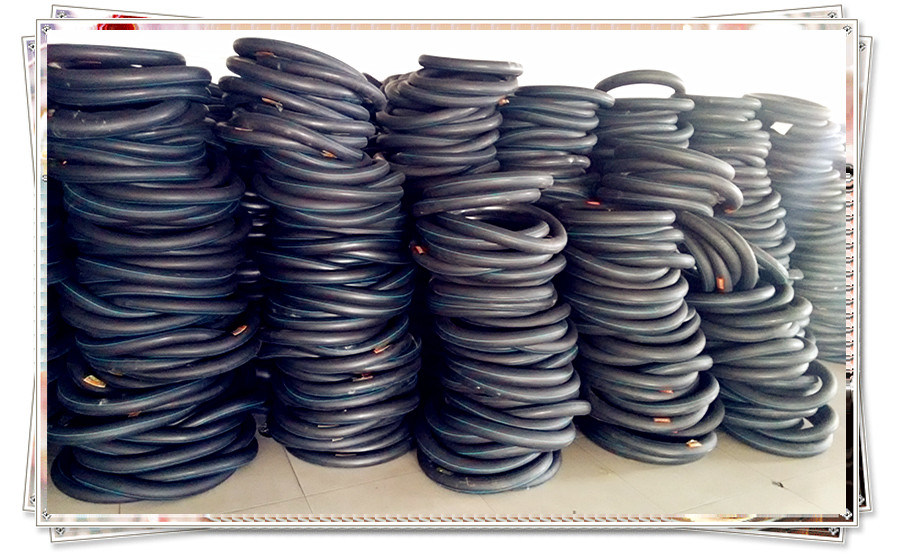 High Tensile Strength Natural and Butyl Inner Tube for Motorcycle