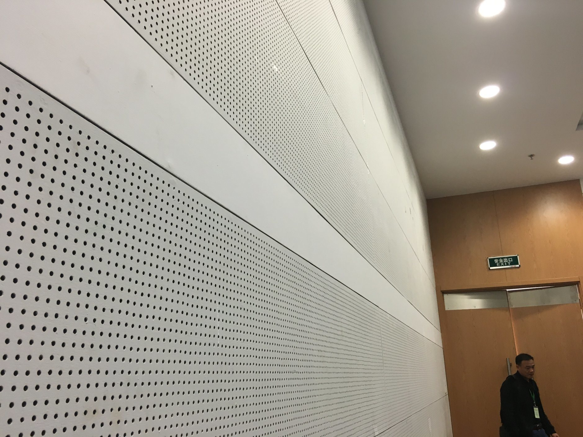 Perforated Ceiling Panels for Sound Absorption (595*595*5)