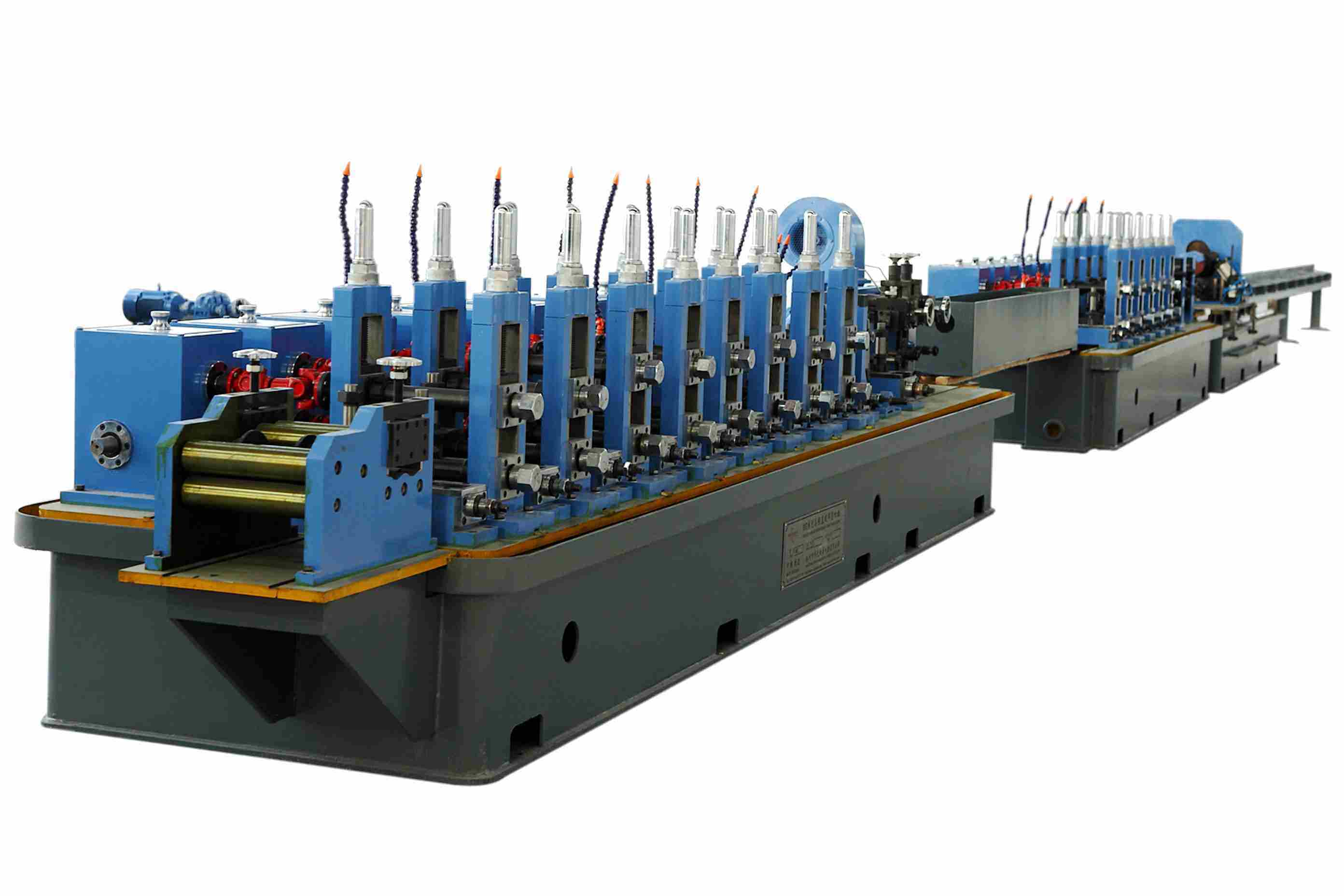 Wg50 High Frequency Steel Pipe Making Machine