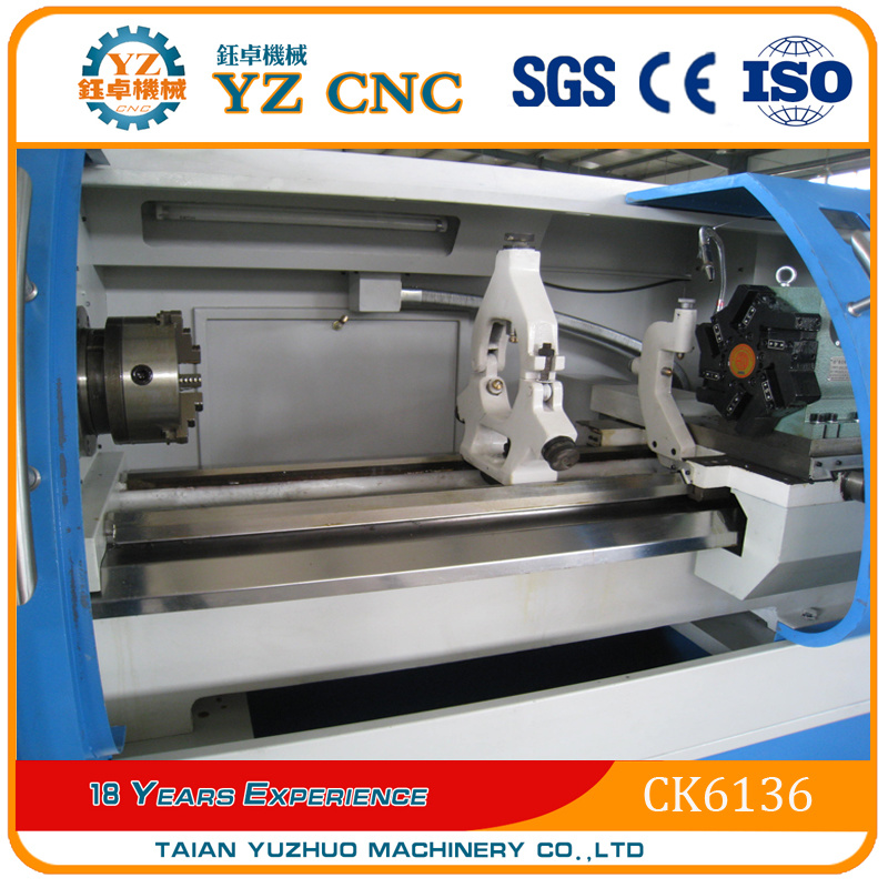 Ck6136 Flat Bed Type CNC Lathe Machine
