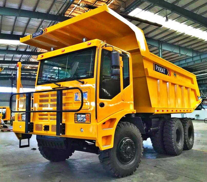 90 Tons Automatic Mining Heavy Duty Truck