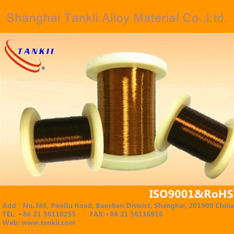 copper wire thermal class C / 200*C ANSI TYPE MW35C or IEC 317-13. Polyester-imide and polyamide-imide double coated enameled Winding wire