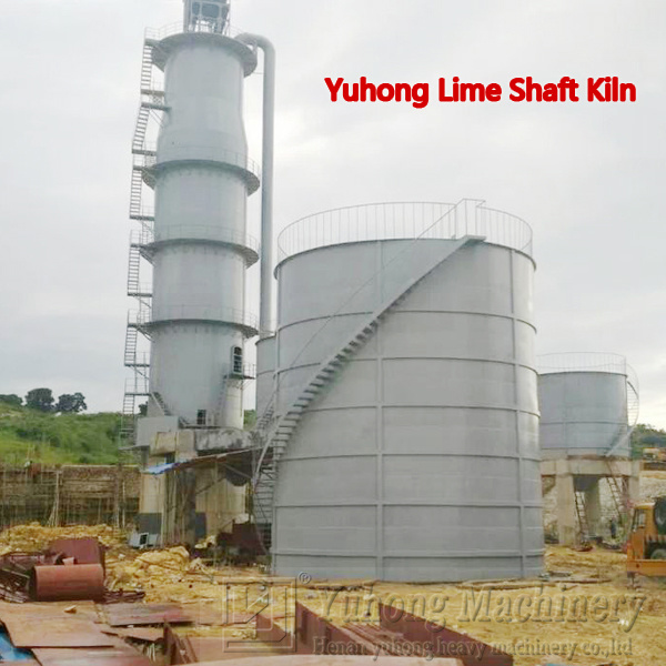 2016 Yuhong Quick Lime Shaft Kiln Plant Line