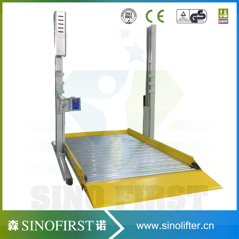 2 Two Post Vertical Home Hydraulic Lift for Cars