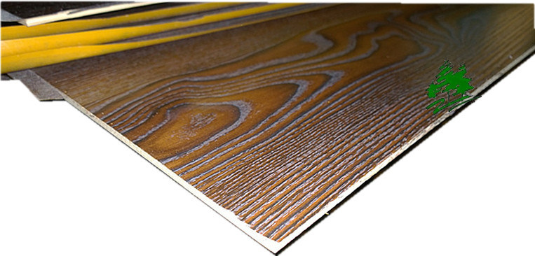 Furniture Used Melamine Fancy Poplar Plywood with Walnut Grain for Decoration