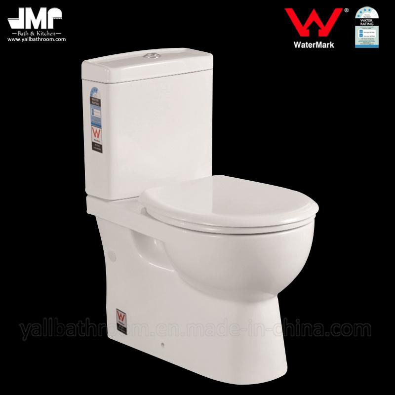 8011 Australian Standard Sanitary Ware Watermark Washdown Two Piece Ceramic Toilet