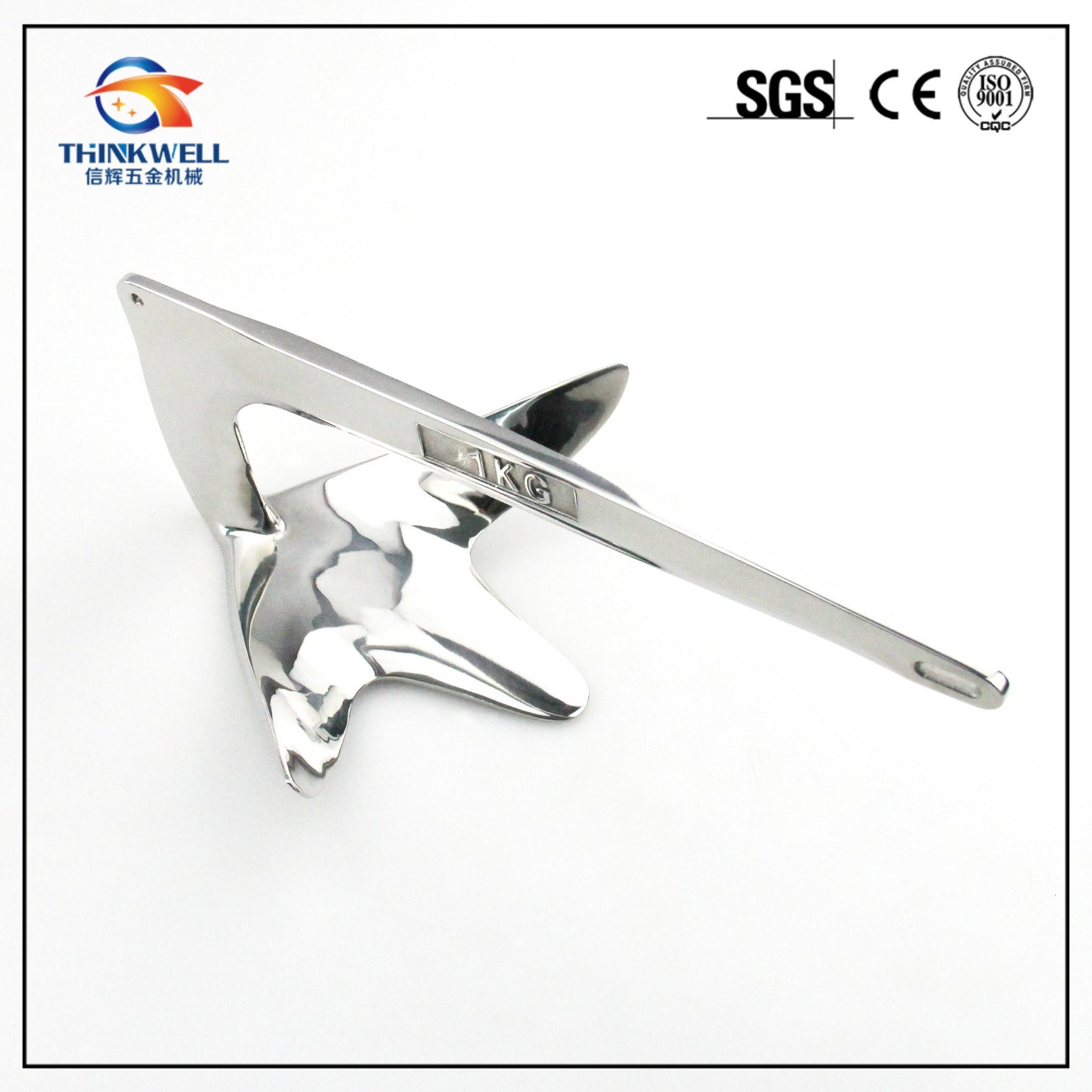 Marine Hardware Stainless Steel 316 Bruce Anchor