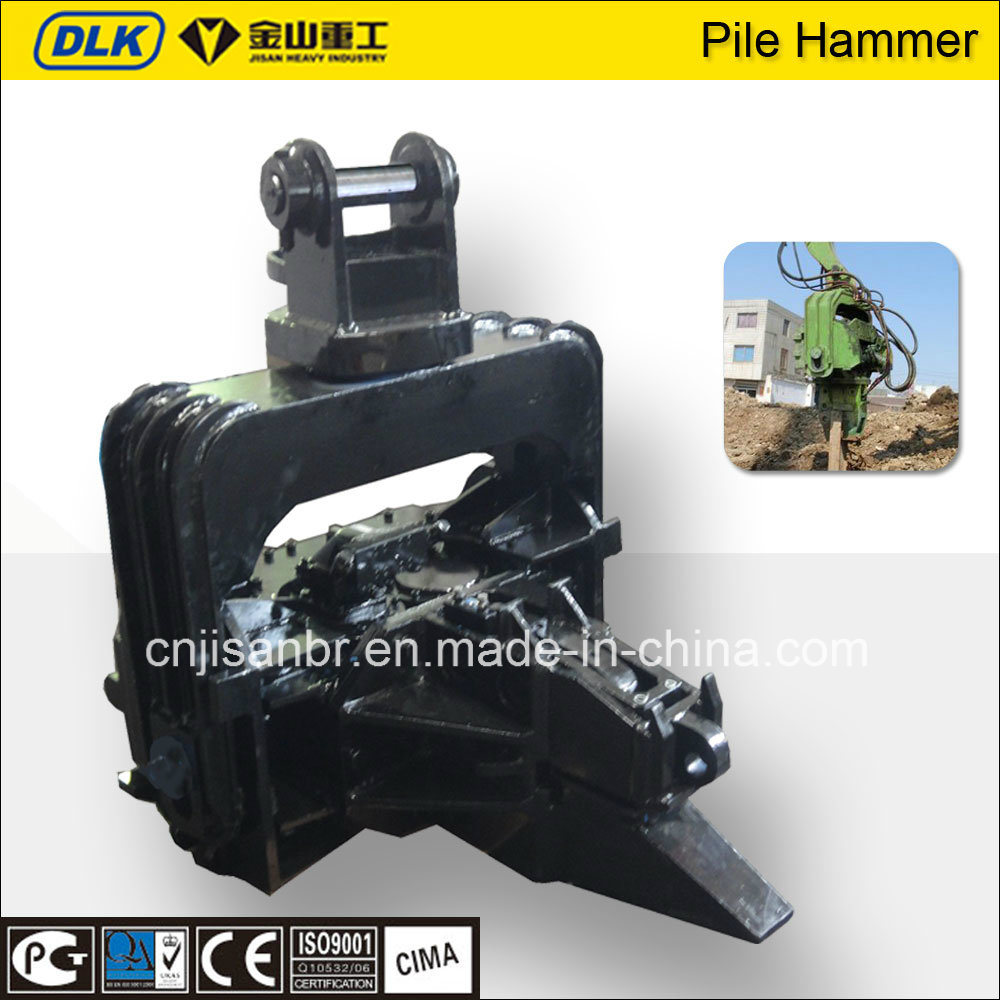 Dlk Hydraulic Vibratory Pile Driver for 24-32 Tons Excavator
