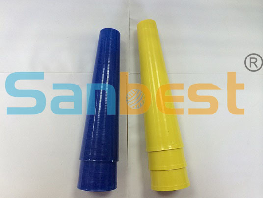 Regular 6 Inch Plastic Cones for Spun Polyester Sewing Thread
