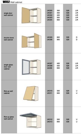 Kitchen Upper Wall Cabinet Organizers - Choose from high