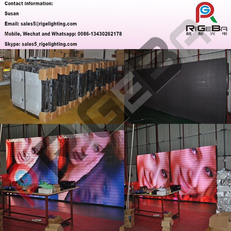 Full Color Stage Light Indoor LED Display Screen