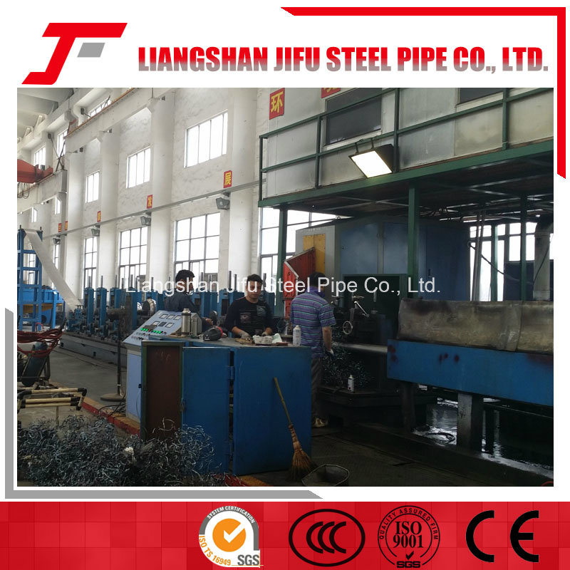 Good Quality Straight Seam Welded Steel Pipe Mill