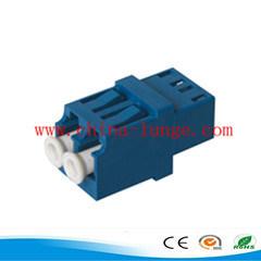 Optical Fiber Cable Duplex SC Adapter