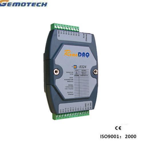 R-8324 12-Channel Ethernet-Based Digital Input/Output / Analog Output Module