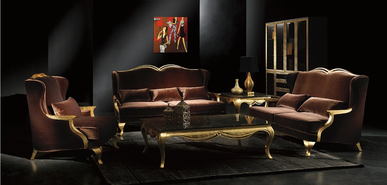 China Luxury Sofa Set Living Room Sofa 8206 Photos Pictures Made I