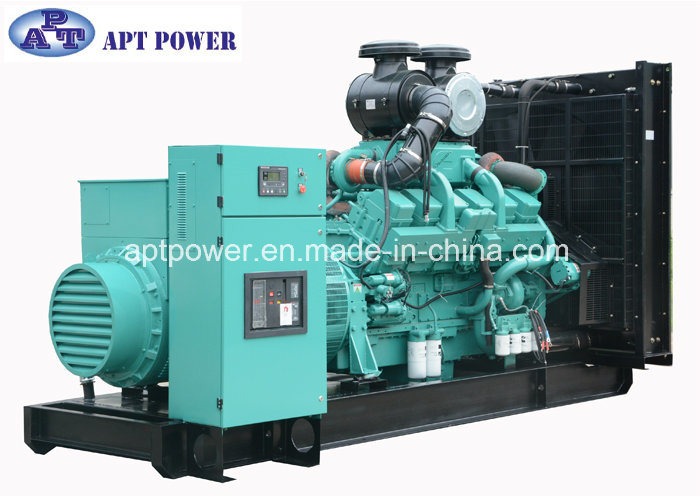 Compact 1250kVA 1000kw Electric Generator Powered by Cummins Engine