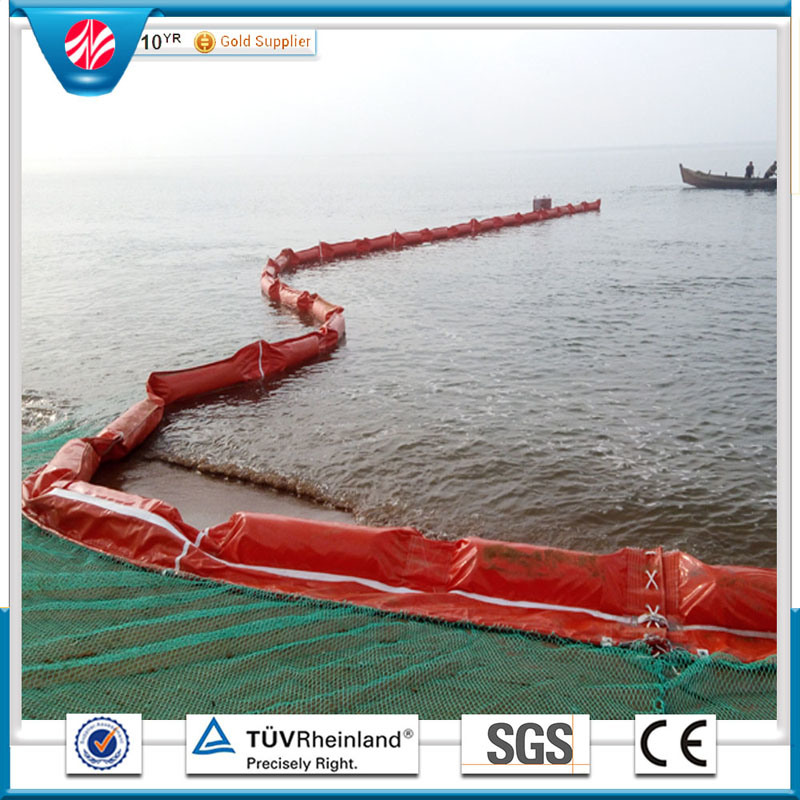 PVC Oil Boom, Rubber Oil Boom, Orange Oil Boom