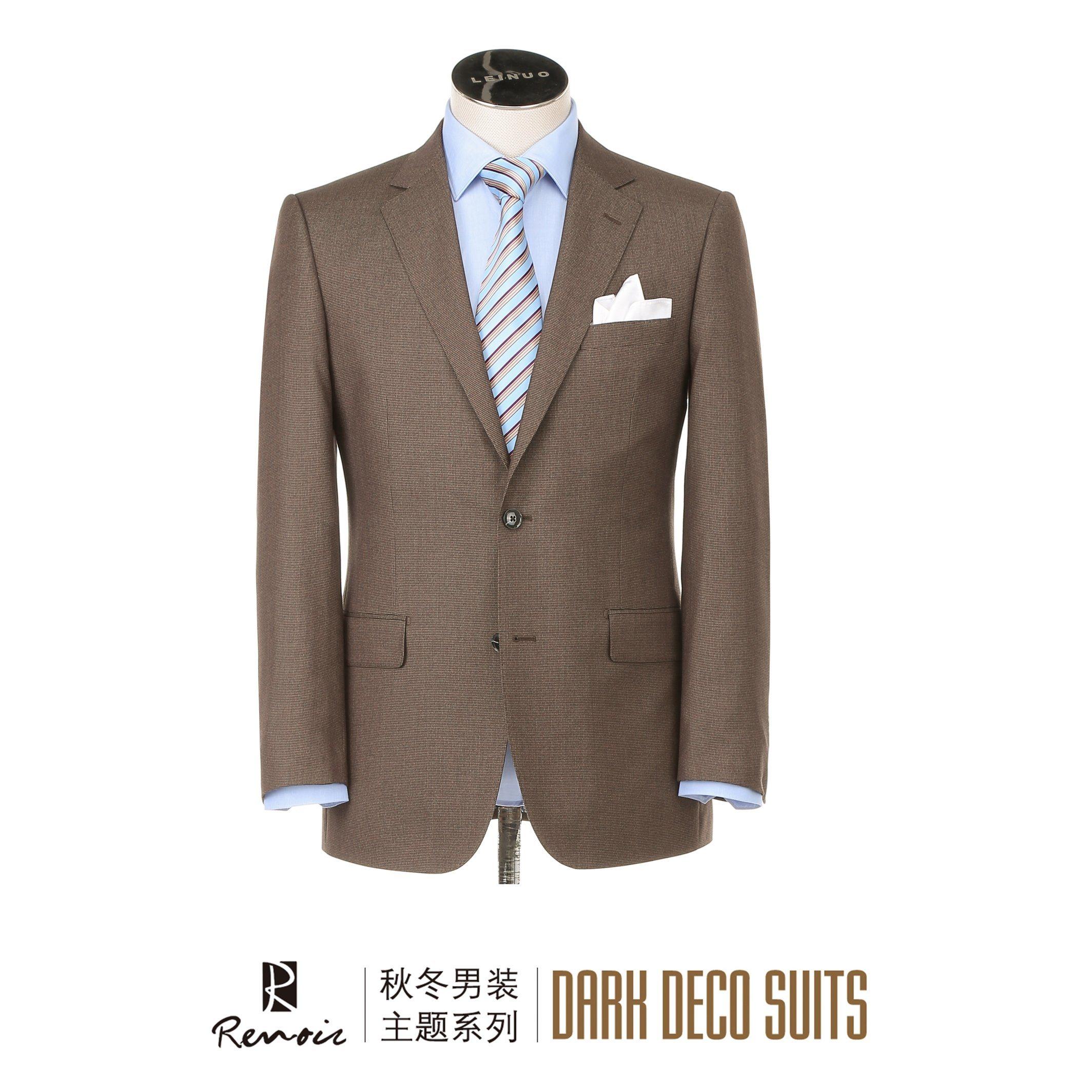 OEM Classic Fit Two Buttons Men′s Business Suit