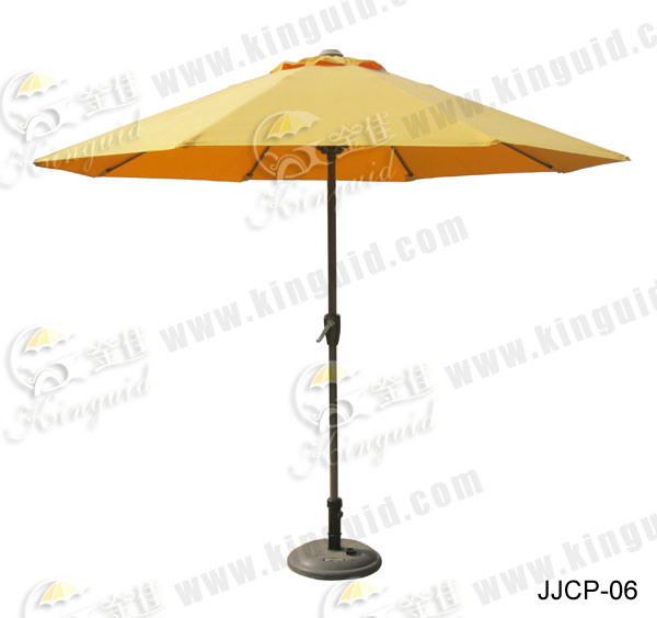 Central Pole Umbrella, Outdoor Umbrella (JJCP-06)