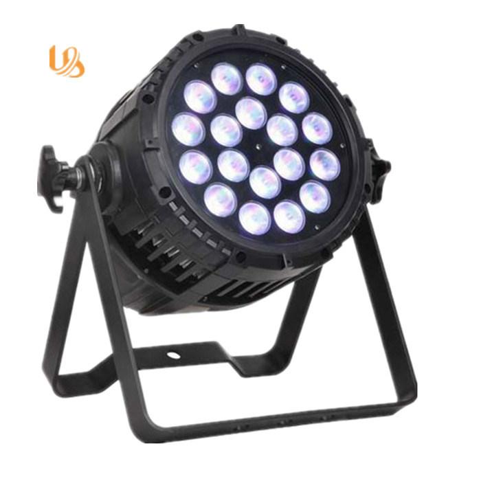 Outdoor 18PCS 10W 4in1 LED RGBW Sky PAR Light