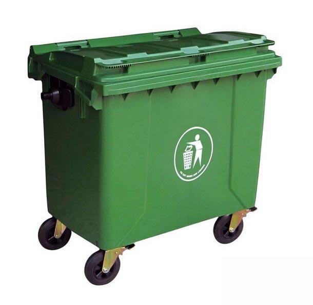 Plastic Garbage Can/Waste Bin (FS-80660)
