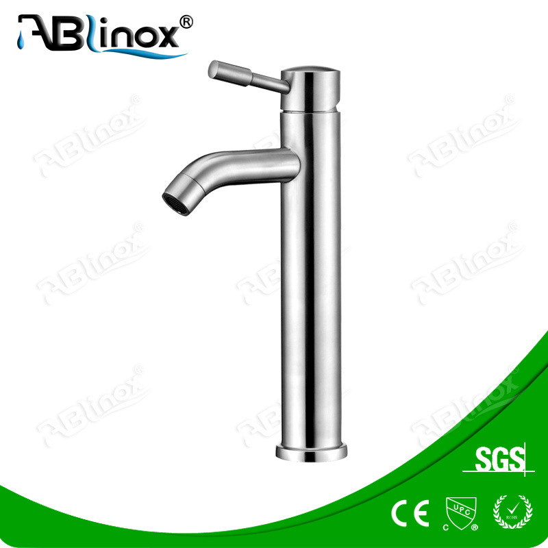 Stainless Steel Basin Saving Water Faucet (AB002)