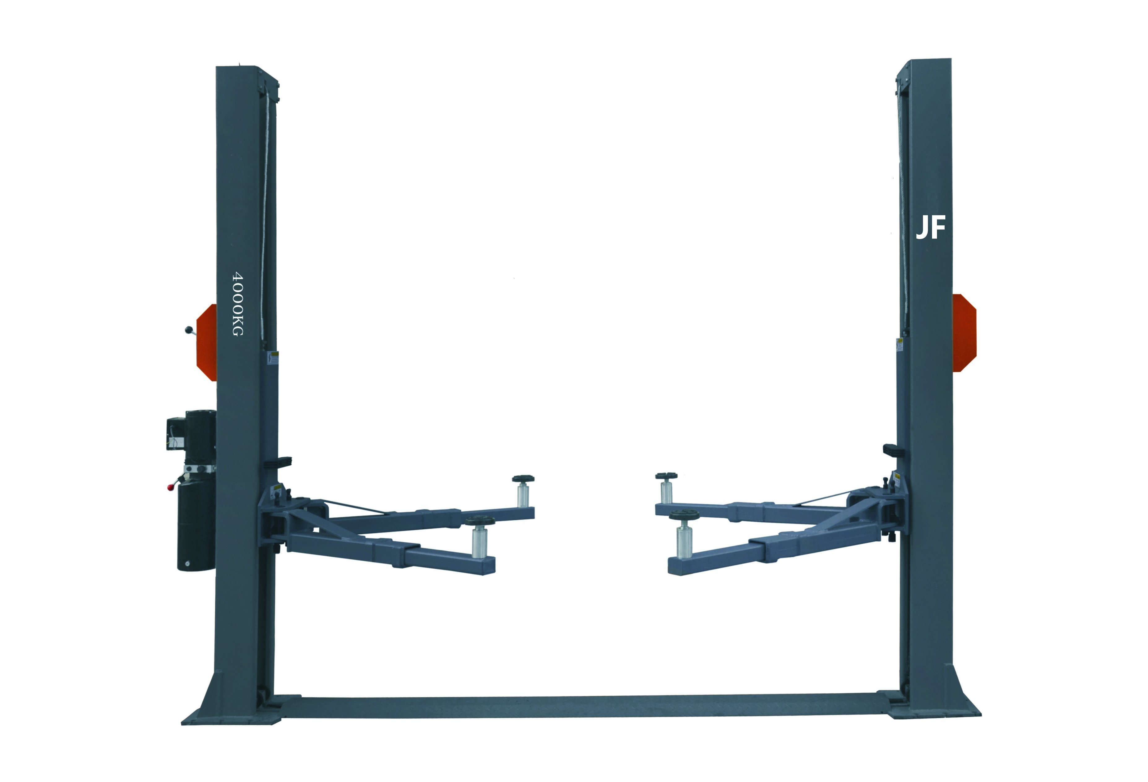 4 Tons 2 Post Car Lift with Manual Release Hydraulic Lift