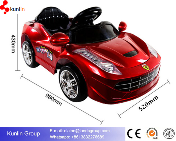Wholesale Kids Handlebar Battery Power Toy Vehicle