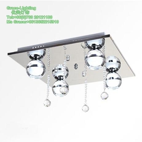 Crystal Manufacturer Modern 12W LED Ceiling Lamp (GD-2209-4)