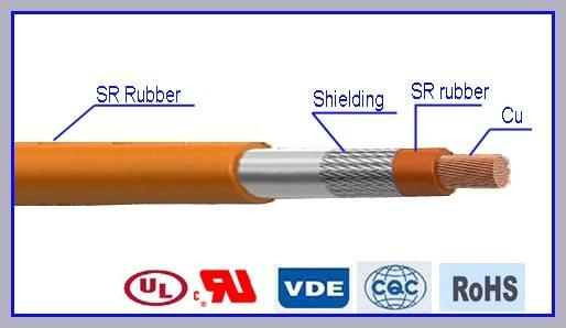 AWM3573 High Voltage Silicone Rubber Wire
