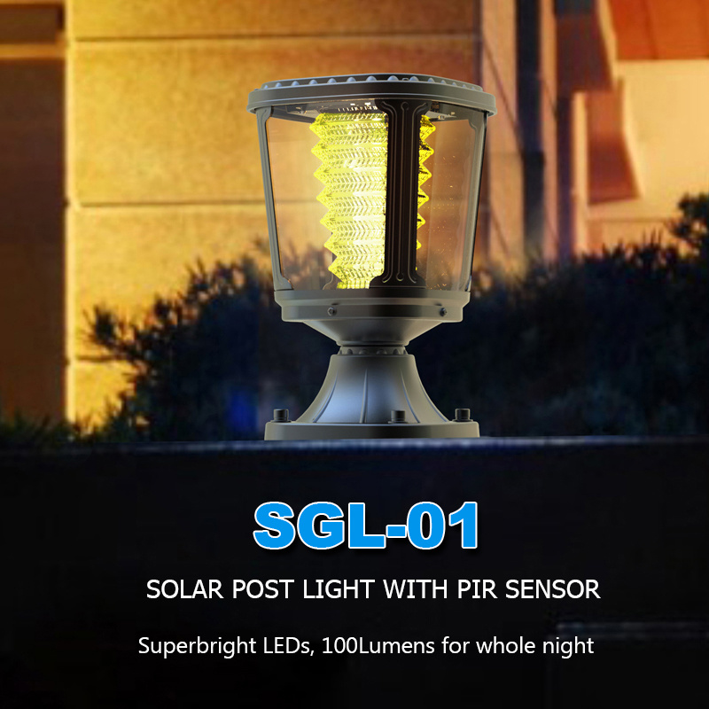 Residential Outdoor Landscape Garden LED Pillar Light 1W