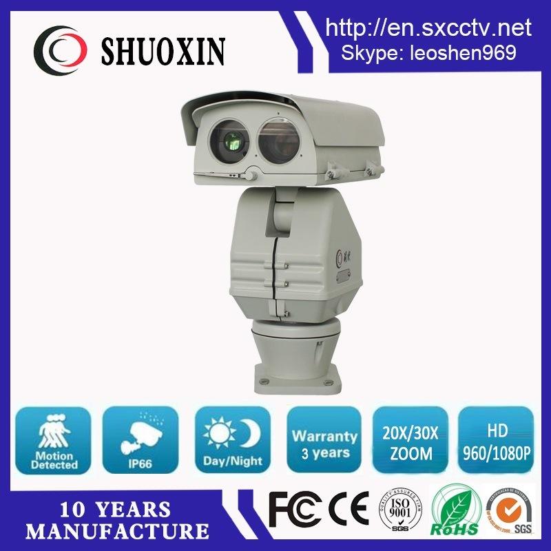 1km 2.0MP 250mm Lens 10W Laser PTZ HD IP Camera