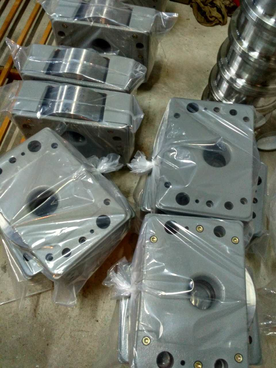 Drs 125mm Wheel Block for End Truck (DRS-125mm)