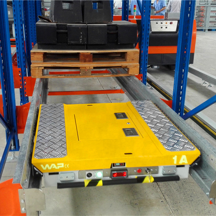 Pallet Runner for Compact Storage in Cold Store