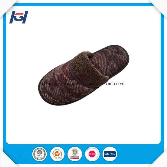 Winter Warm Soft Memory Foam Bedroom Slippers for Men