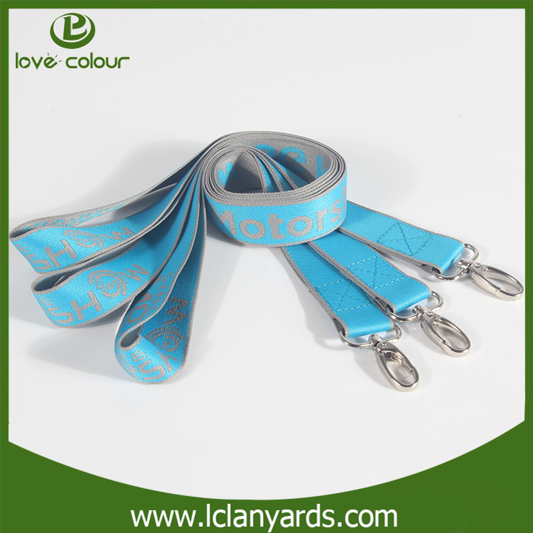 Advertising Strap ID Holder Lanyards Custom Nylon Design