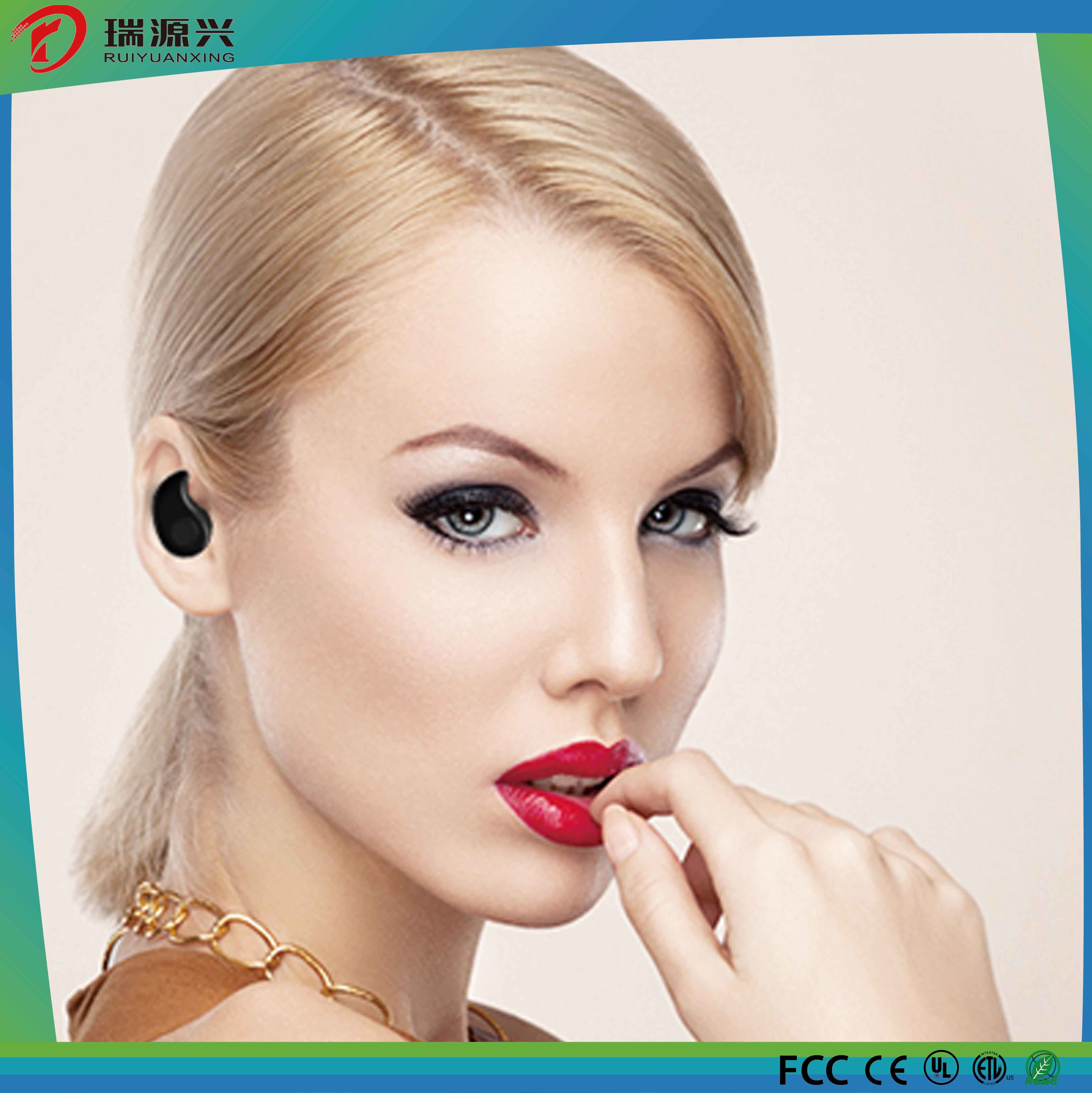 Mini Invisible Stereo In-Ear Bluetooth Earphone