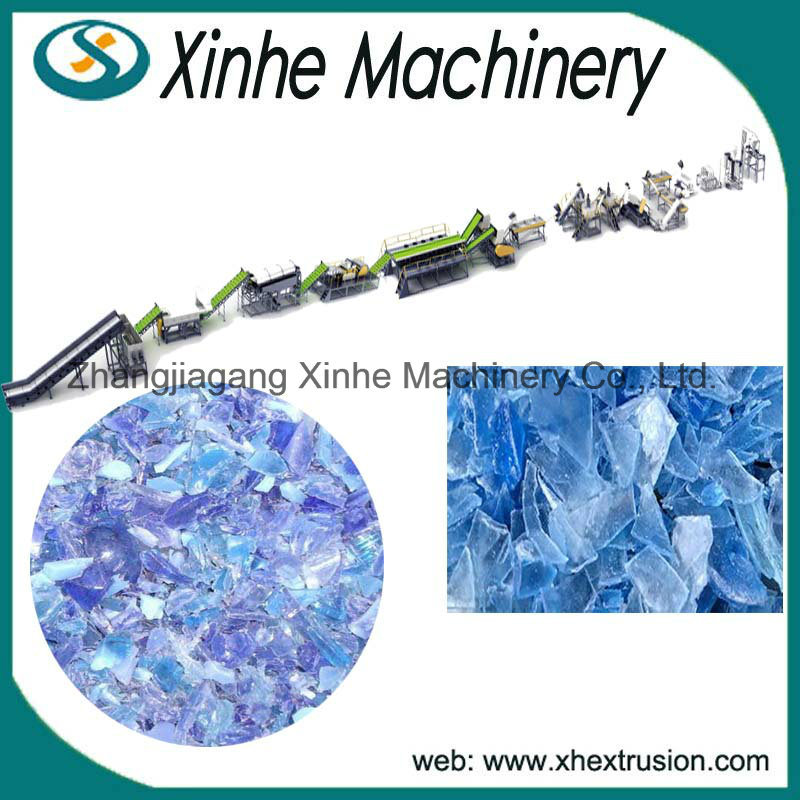 High Quantity Plastic Pet Bottle Flake Washing Production Machine Line