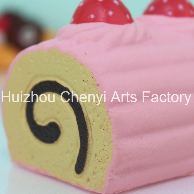 Slow Rebound Exquisite Artificial Cake PU Foam