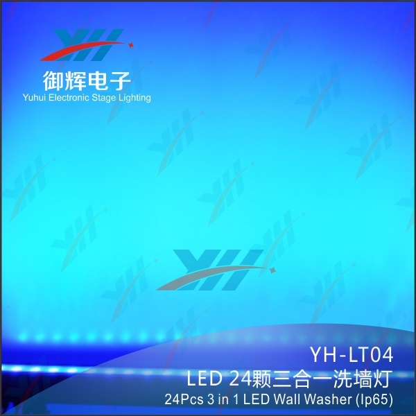24 PCS of 3 in 1 Professional Outdoor Waterproof LED Wall Washer Light