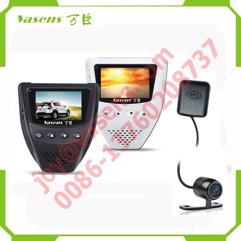 Dual Lens Car DVR Black Box Car Camera Dash Cam with GPS Car Dash Camera Dashcam