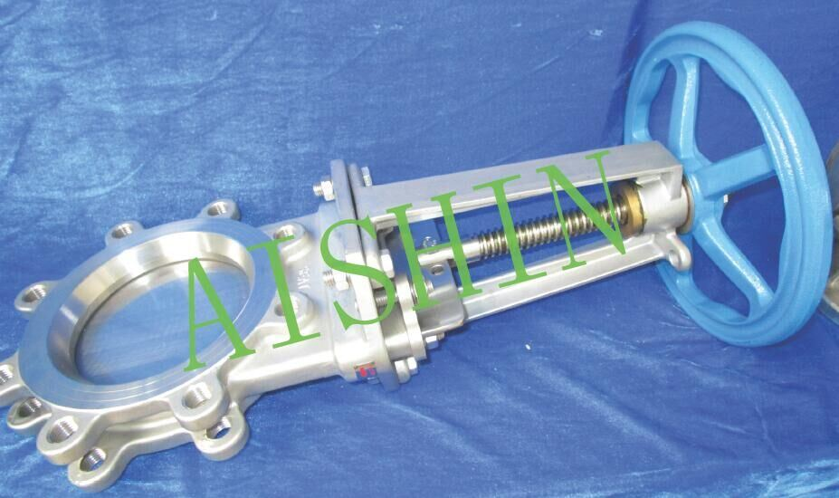 Knife Gate Valve (The manual wafer type)