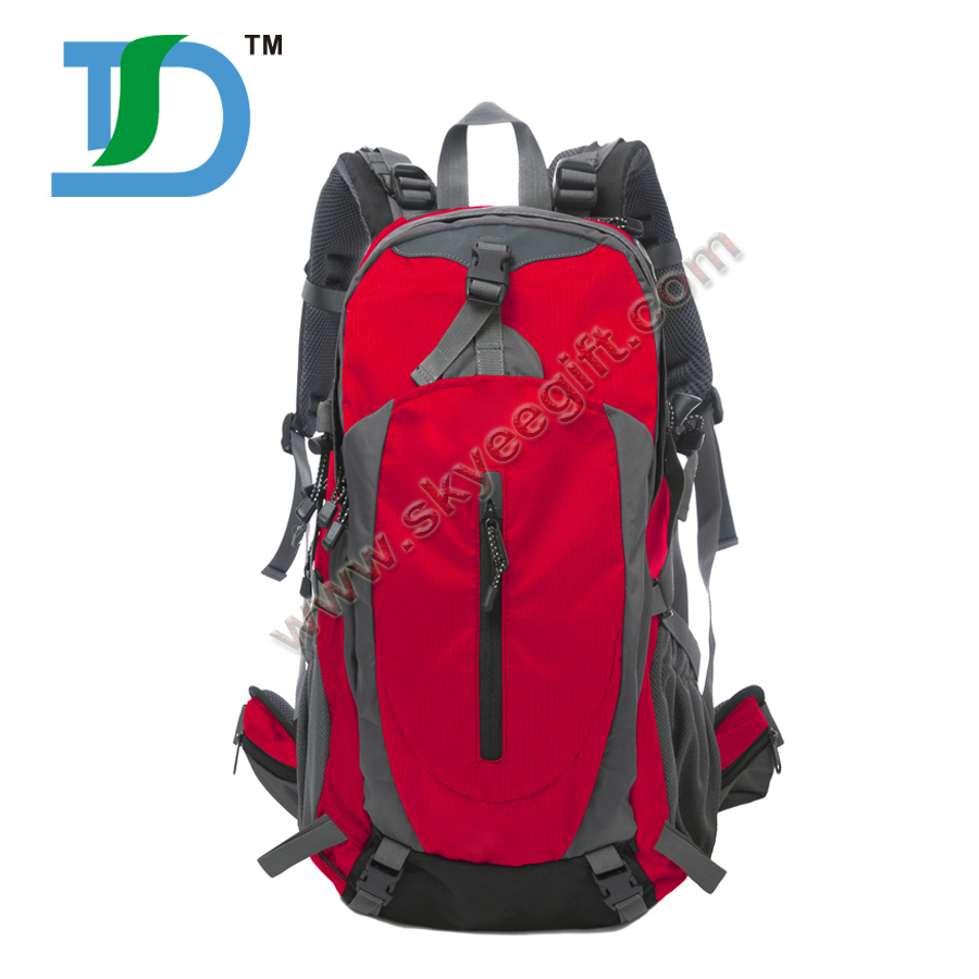 Custom Waterproof Outdoor Mountaineer Camping Hiking Travel Backpack 40L