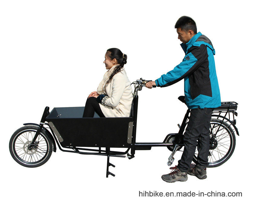 Long John Bakfiets Cargo Bicycle with Power Assist